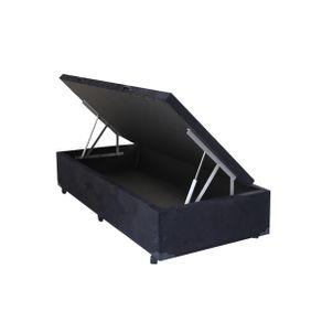 cama-box-solteiro-com-bau-sonnoforte-suede-preto-com-pistao-1